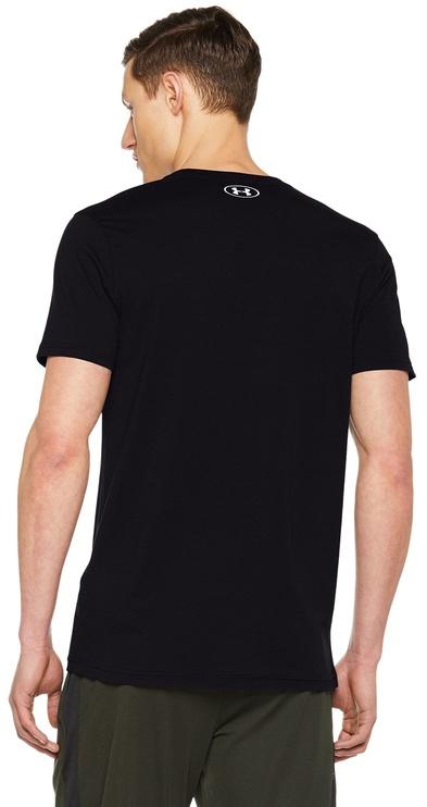 Under Armour T-Shirt Racing 1313246-001 Black M