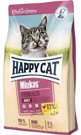 Happy Cat Dry Food Minkas Sterilised w/ Poultry 500g