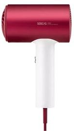 Soocas H5 Hair Dryer Red/White