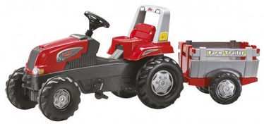 Rolly Toys rollyJunior Tractor With Farm Trailer RT Red 800261