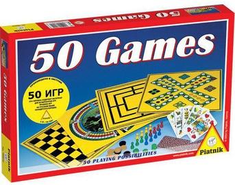 Lauamäng Piatnik 50 Games, LV/RUS