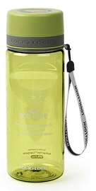 Lock & Lock Two Tone Spout Bottle 0.6l Green