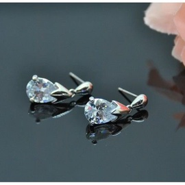 Vincento Earrings With Zirconium Crystal LE-1316