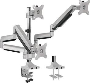 LogiLink Triple Aluminum Monitor Desk Mount