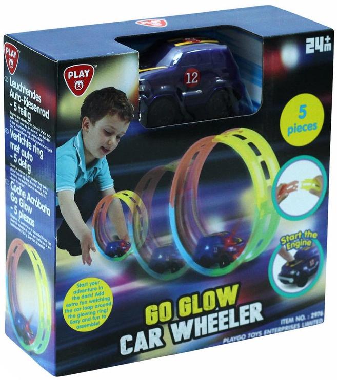 PlayGo Go Glow Car Wheeler 2976
