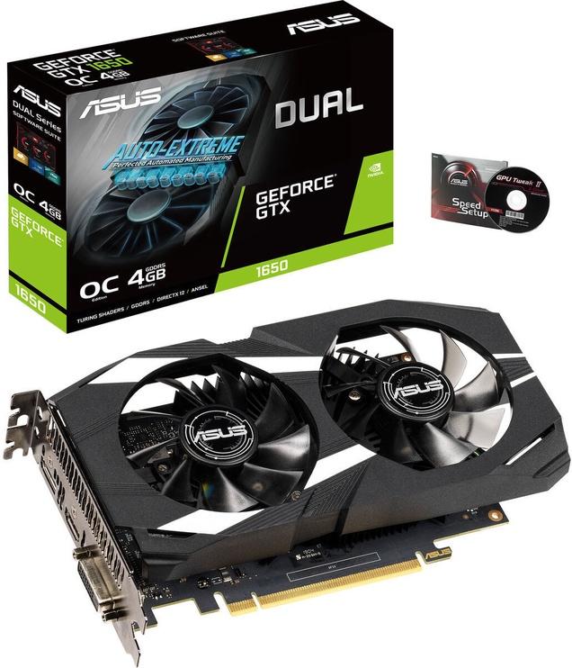 Asus GeForce GTX 1650 Dual OC Edition 4GB GDDR5 PCIE DUAL-GTX1650-O4G
