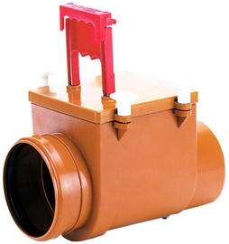 H&L DN160 Drain Valve with Flap Stainless