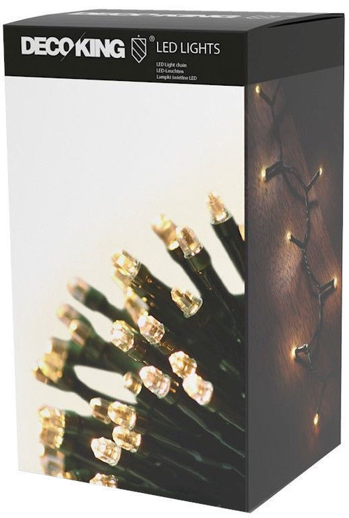 Jõulutuled DecoKing LED Chain, soe valge, 743 cm