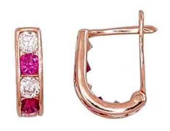Diamond Sky Gold Earrings Confetti XVII