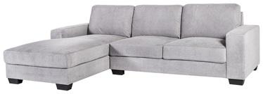Угловой диван Home4you Kendra 21564, серый, левый, 268 x 165 x 84 см