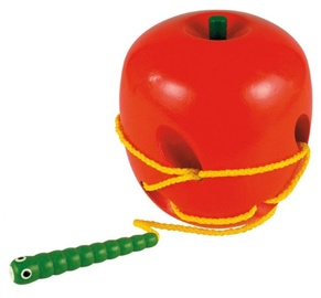 Woody Lacing Apple And Worm Hand Motoric Skills 90471