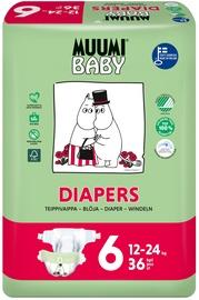 Püksmähkmed Muumi Baby Diapers 6 suurus, 36tk