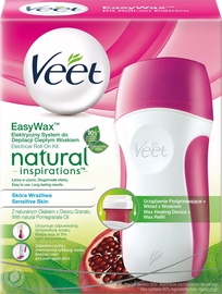 Veet Natural Inspirations Electrical Roll On Hot Wax Kit