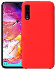 Mocco Liquid Silicone Soft Back Case Samsung Galaxy A41 Red