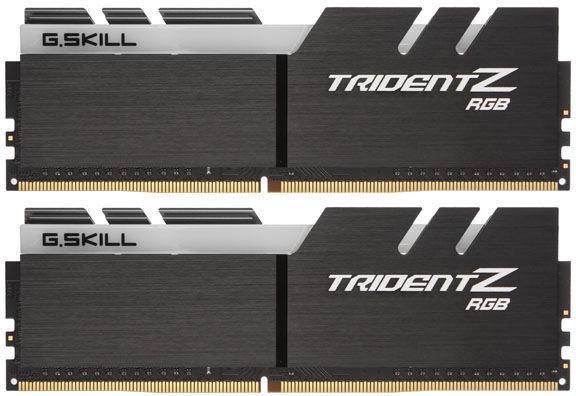 G.SKILL Trident Z RGB for AMD Ryzen 16GB 3200MHz CL14 DDR4 KIT OF 2 F4-3200C14D-16GTZRX