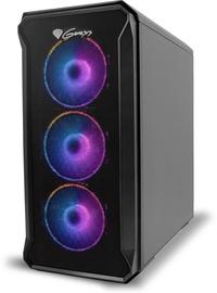 Genesis IRID 503 ARGB mATX Micro Tower Black