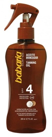 Babaria Coconut Tanning Oil SPF4 200ml