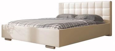 Кровать Idzczak Meble Dove Soft 33 Vanilla, 160 x 200 cm