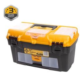 Forte Tools RLO-17 Toolbox 434x238x250mm Black/Yellow