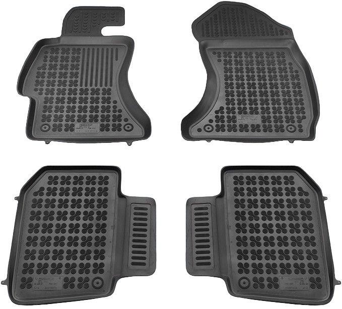 REZAW-PLAST Subaru WRX STI 2014 Rubber Floor Mats