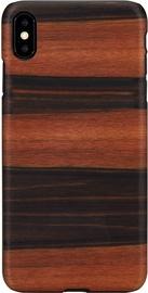 Man&Wood Ebony Back Case For Apple iPhone XS Max Black