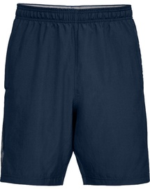 Under Armour Woven Graphic Wordmark Shorts 1320203-408 Navy Blue S