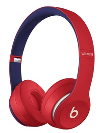 Beats Solo3 Wireless Headphones Beats Club Collection Red