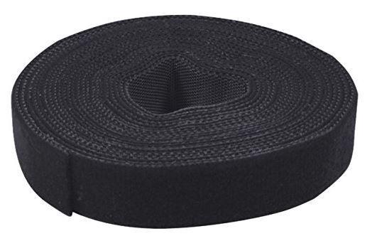 LogiLink Cable Management Velcro 4m x 16mm Black