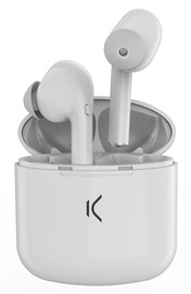 Ksix True Buds Wireless Earbuds White