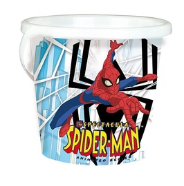 Smoby The Spectacula Spiderman Big Bucket