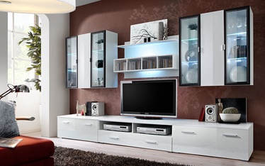 ASM Quadro Living Room Wall Unit Set White