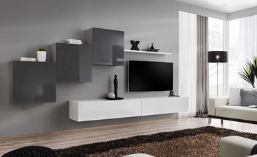 ASM Switch X Wall Unit Graphite/White