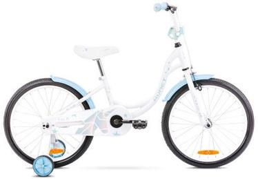 Laste jalgratas Romet Tom 10'' 20'' White/Blue