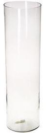 Verners Cylindrical Vase 20x70cm Transparent