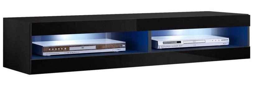 ASM Fly V Living Room Wall Unit Set Black ZZ FY V5
