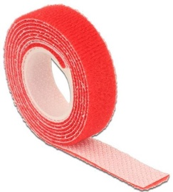 Delock Cable Management Velcro 1m x 13mm Red