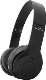 Media-Tech Epsilion Bluetooth Over-Ear Earphones Black
