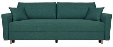 Диван-кровать Black Red White Aradena Green, 222 x 102 x 88 см