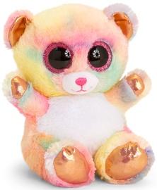 Keel Toys Animotsu Rainbow Rose Gold Bear 15cm