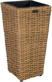 Home4you Flower Pot Wicker 28x60cm Rattan 35113