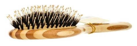 Olivia Garden Healthy Hair Bamboo Paddle Brush with Combo Bristles