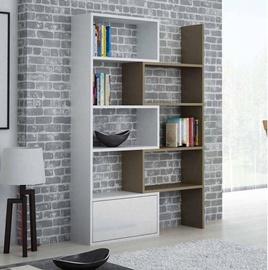 Cama Meble Paco Bookcase White/Latte