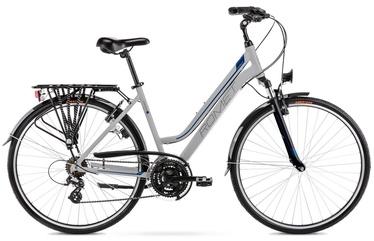 """Велосипед Romet Gazela 1 2128441 2021, синий/серый, 19"""", 28″"""