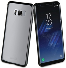 Muvit Crystal Bump Back Case For Samsung Galaxy S8 Plus Black