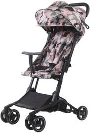 Jalutuskäru Tesoro S900, must/roosa