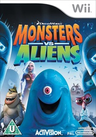 DreamWorks Monsters vs. Aliens Wii