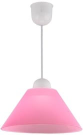 Candellux Fama Hanging Ceiling Lamp 60W E27 Pink