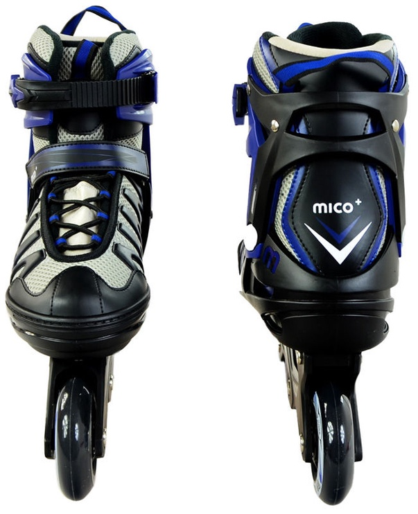 Rulluisud Mico Plus Speed Black/Blue, 43