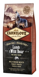 Carnilove Adult Dog Lamb & Wild Boar 12 plus 2kg