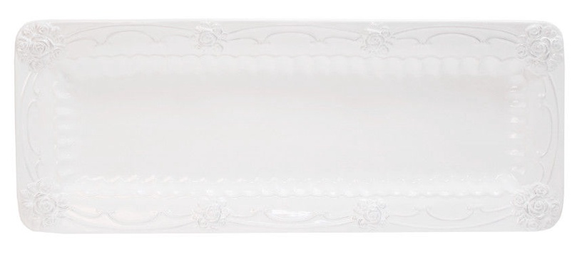 Home4you ROOSI Serving Plate 42x16cm White